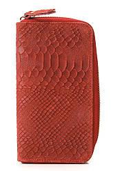 Жіночий шкіряний гаманець ORLANDA diva's Bag колір червоний