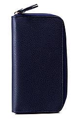 Жіночий шкіряний гаманець OLINDA diva's Bag колір темно-синій