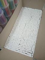 Мел школьный белый весовой, 7,2 кг (прибл. 800 шт.), 12х12х75 мм, гофрокороб