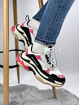 Женские кроссовки в стиле Balenciaga Triple S Pink, фото 3
