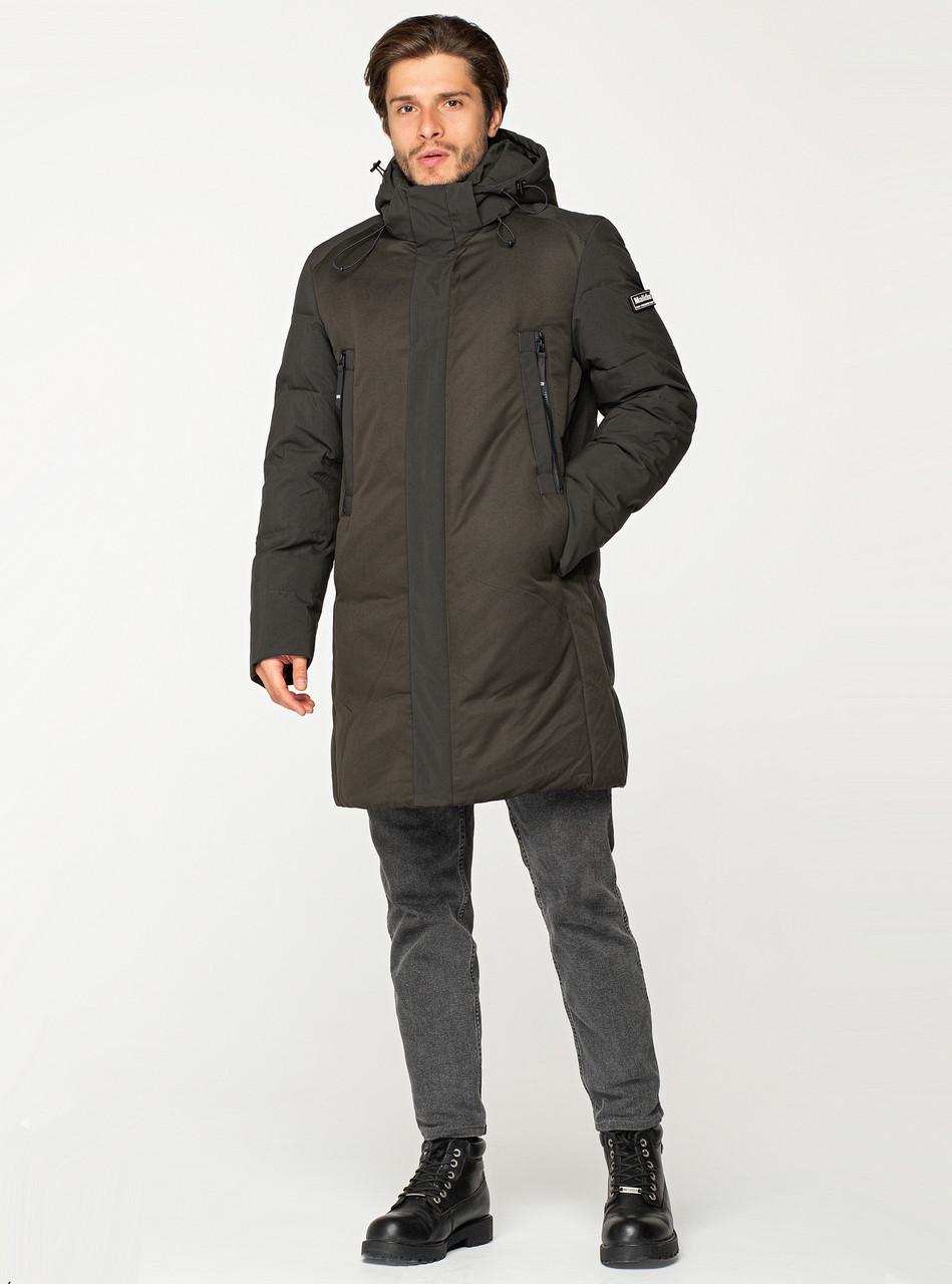 Зимняя мужская куртка MALIDINU удлинённая