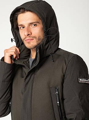 Зимняя мужская куртка MALIDINU удлинённая, фото 2