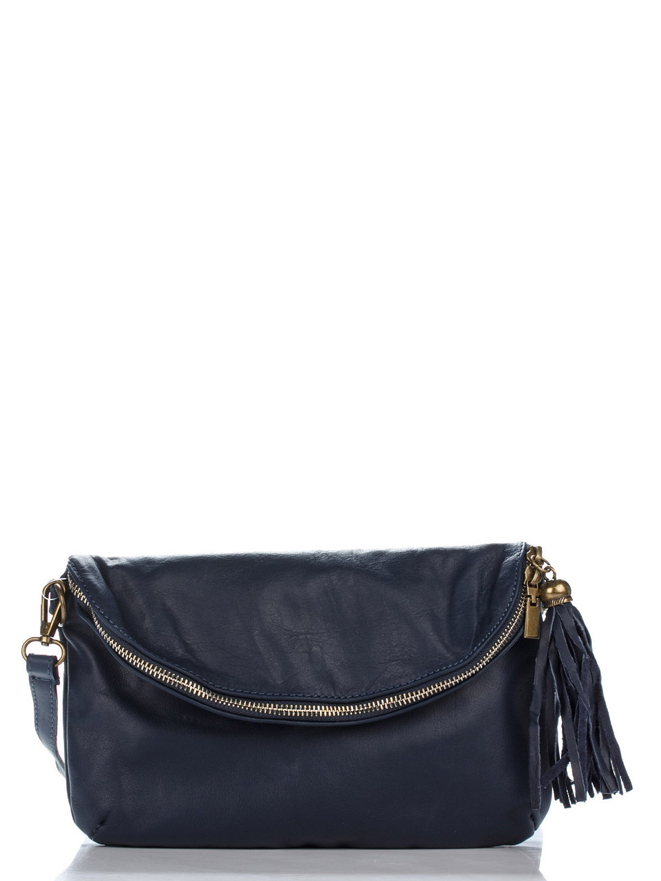 Жіноча шкіряна сумка SABINE diva's Bag колір темно-синій