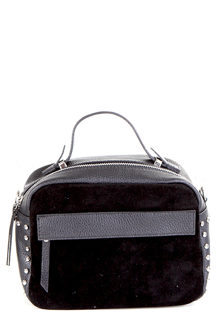 Женская кожаная сумка LINDA Diva's Bag цвет черный