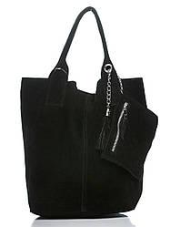Жіноча шкіряна сумка ARIANNA diva's Bag колір чорний