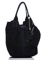 Женская кожаная сумка ARIANNA Diva's Bag цвет темно-синий