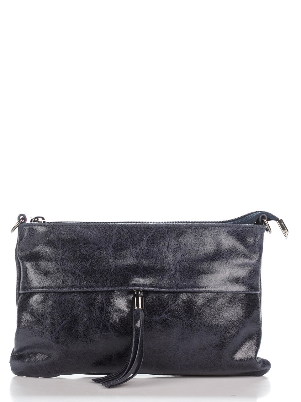 Женская кожаная сумка LELIA Diva's Bag цвет темно-синий