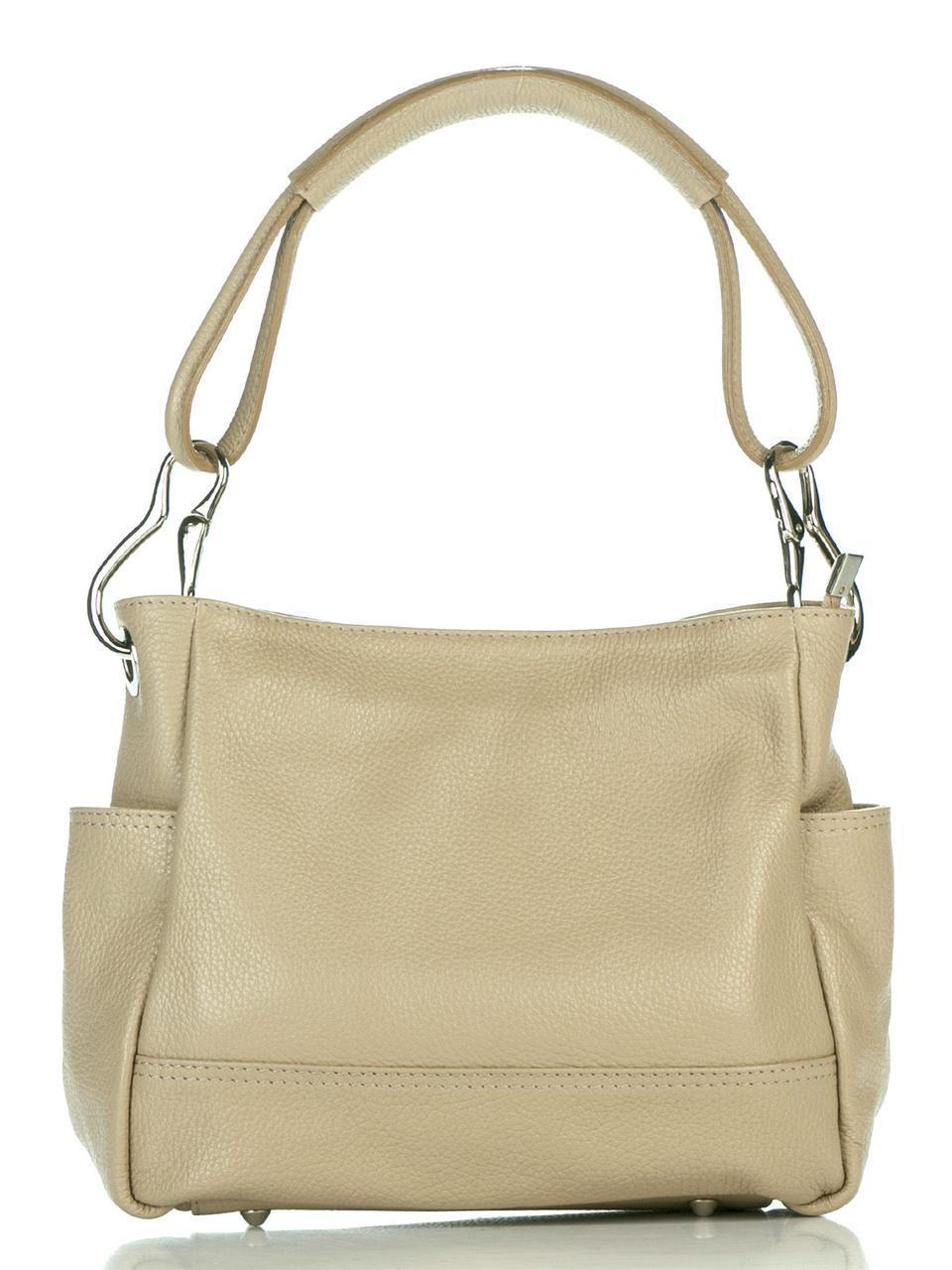 Женская кожаная сумка SHEILA Diva's Bag цвет светло-коричневый