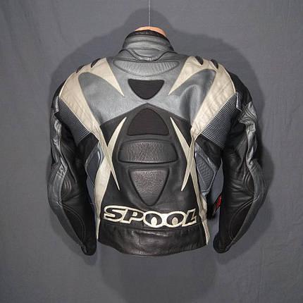 Мотокуртка SPOOL б/у кожа, фото 2