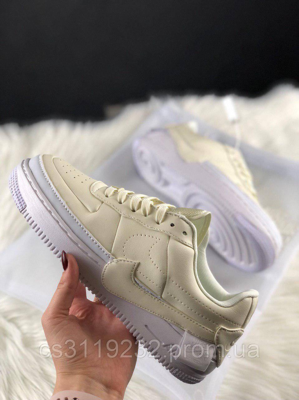 Женские кроссовки Nike Air Force 1 Jester (белые)
