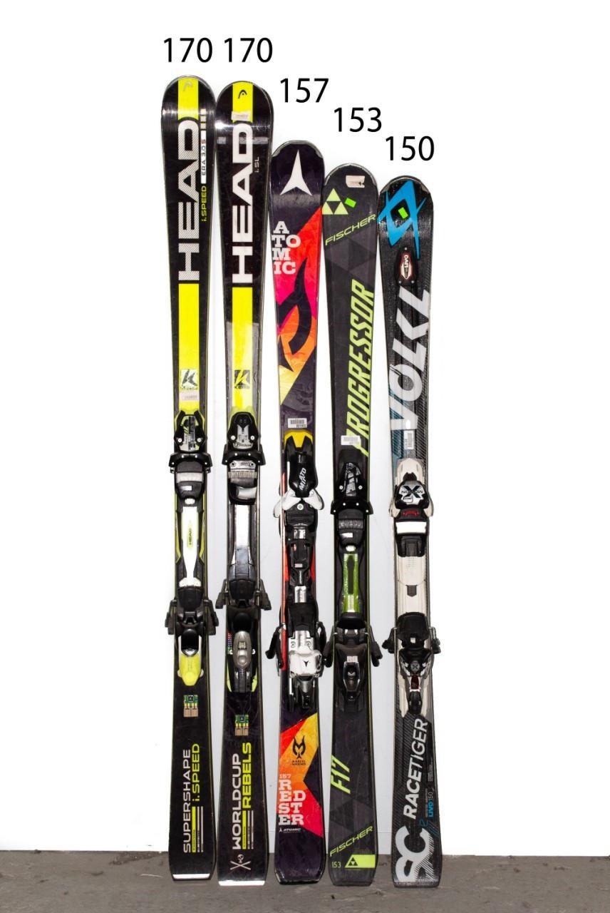 Лыжи Atomic Volkl Head Progressor 153