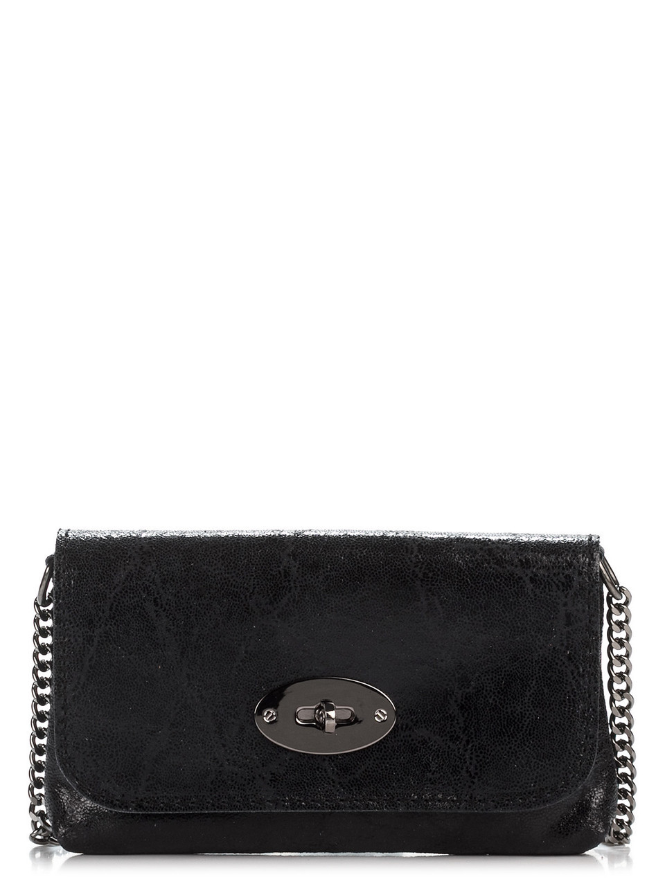 Женская кожаная сумка KITTY Diva's Bag цвет черный