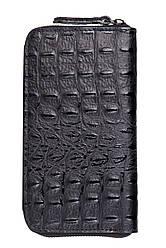 CIRA чорний жіночий шкіряний гаманець Divas Bag