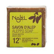Алеппское мыло 12% 170г Najel