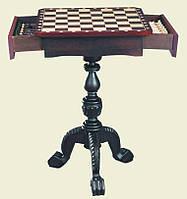 Шахматный стол Nigri с ящичками, столешница 54 х 54 см., высота стола 75 см.