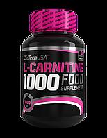 Л Карнитин BioTech (USA) L-carnitine 1000mg 60 таб