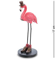 "Фигурка ""Фламинго"", 6х7,5х17 см., полистоун, фото 1"