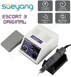 Профессиональный фрезер для маникюра и педикюра SaeYang Escort 3 40W / 35000 об. мин.