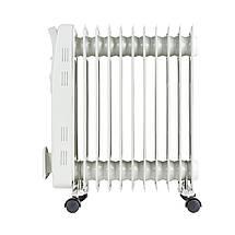 Электрический Масляный Радиатор Напольный Обогреватель на 11 Секций Мощность 2500W (Adler AD 7809), фото 2
