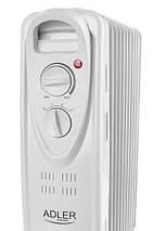 Электрический Масляный Радиатор Напольный Обогреватель на 9 Секций Мощность 2000W (Adler AD 7808), фото 2