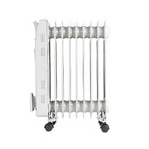 Электрический Масляный Радиатор Напольный Обогреватель на 9 Секций Мощность 2000W (Adler AD 7808), фото 3