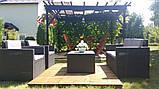 Набір садових меблів Monaco Set With Storage Table з штучного ротанга ( Allibert by Keter ), фото 6