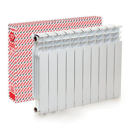 Радиатор биметаллический Bitherm Uno 350/80, фото 2