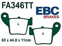 Колодки тормозные задние Honda EBC FA346TT