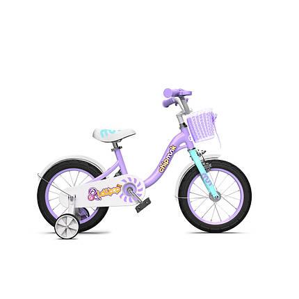 """Велосипед детский RoyalBaby Chipmunk MM Girls 18"""", OFFICIAL UA, фиолетовый, фото 2"""