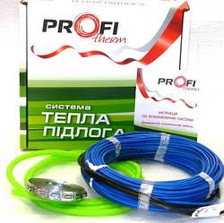 Теплый пол электрический Profi Therm 2 19/140  (1,1 м2) Двужильный нагревательный кабель