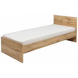 Кровать Злата LOZ/90 BRW 90*200