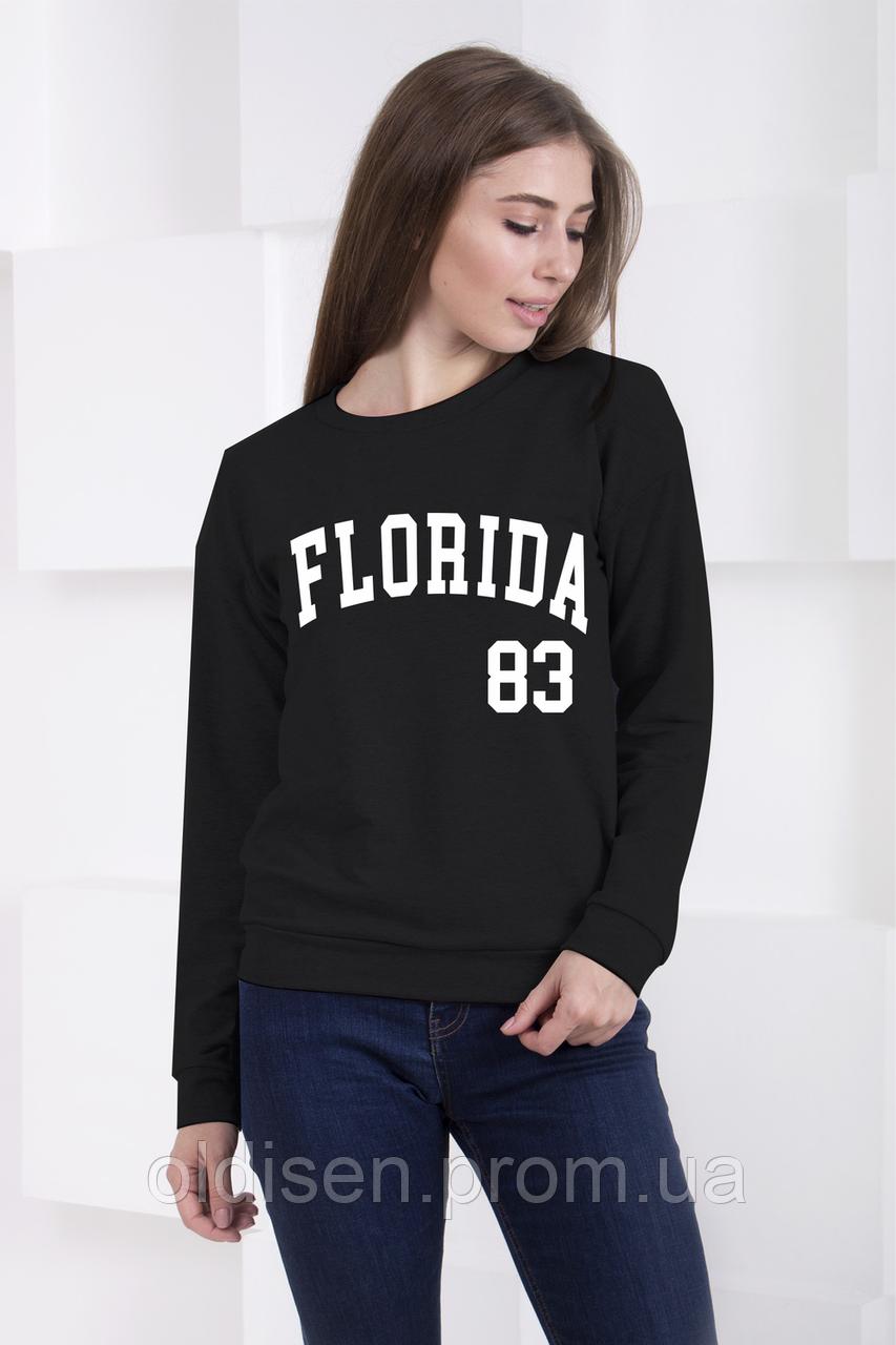 """Свитшот """" Florida, черный"""""""