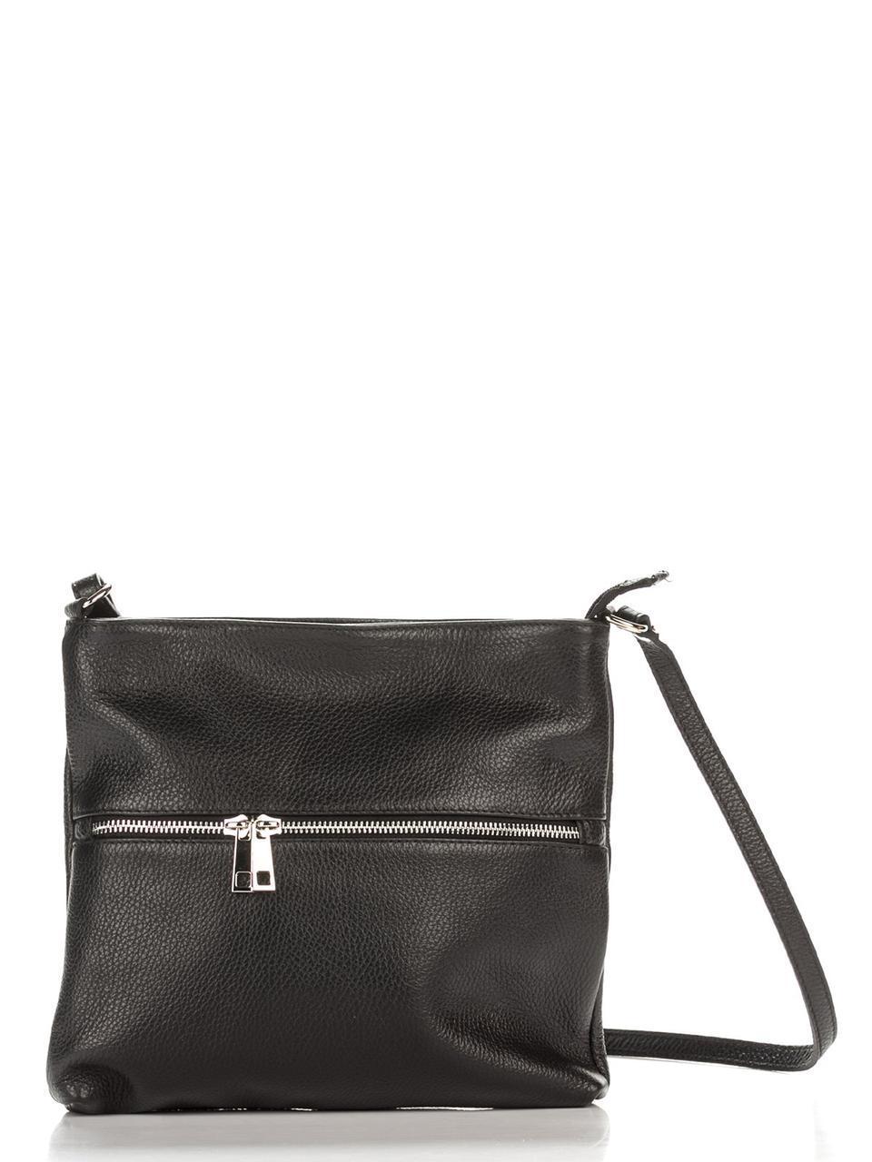 Жіноча шкіряна сумка JOSSLYN diva's Bag колір чорний