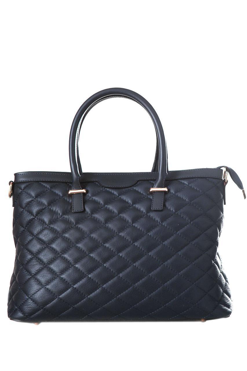 Жіноча шкіряна сумка GRISELDA diva's Bag колір синій