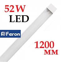 Светодиодный светильник Feron AL5020 52W 1200 мм IP40 линейный плазма на 2 полосы (аналог ЛПО)