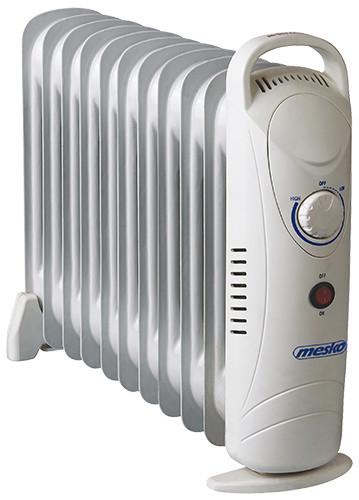 Электрический Масляный Радиатор Напольный Обогреватель на 11 Секций Мощность 1200W (Mesko MS 7806)