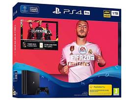 Игровая приставка Sony PlayStation 4 PRO 1TB +FIFA 2020