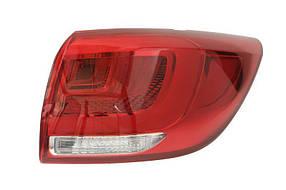 Фонарь задний Kia Sportage 2014-2015 правый внешний LED 223-1972R-UE