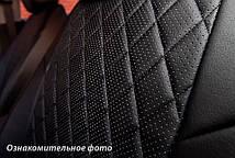 Чехлы салона Kia Sportage 2015- (зад. сид. 60/40) Эко-кожа, Ромб /черные, фото 2
