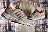 Кроссовки мужские Adidas Adv / 91-17, бежевые (15792) размеры в наличии ►(нет на складе), фото 6