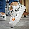 Кроссовки женские Nike Air, белые (15803) размеры в наличии ►(нет на складе), фото 4