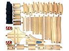 Дополнительные элементы для детской деревянной железной дороги PLAYTIVE®JUNIOR (34 элемента), фото 8
