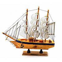 Модель корабля Парусник из дерева