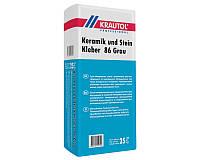 Клей цементный KRAUTOL KERAMIK UND STEIN KLEBER 86 GRAU максимального применения 25кг