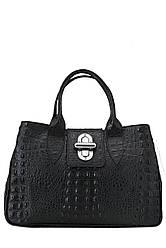 Жіноча шкіряна сумка LAURA diva's Bag колір чорний