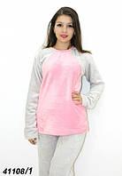 Теплая махровая пижама подростковая женская 146,158,164 рост