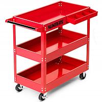 Тележка для инструментов Humberg HR-804 красная