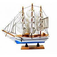 Корабль сувенирный Парусник из дерева