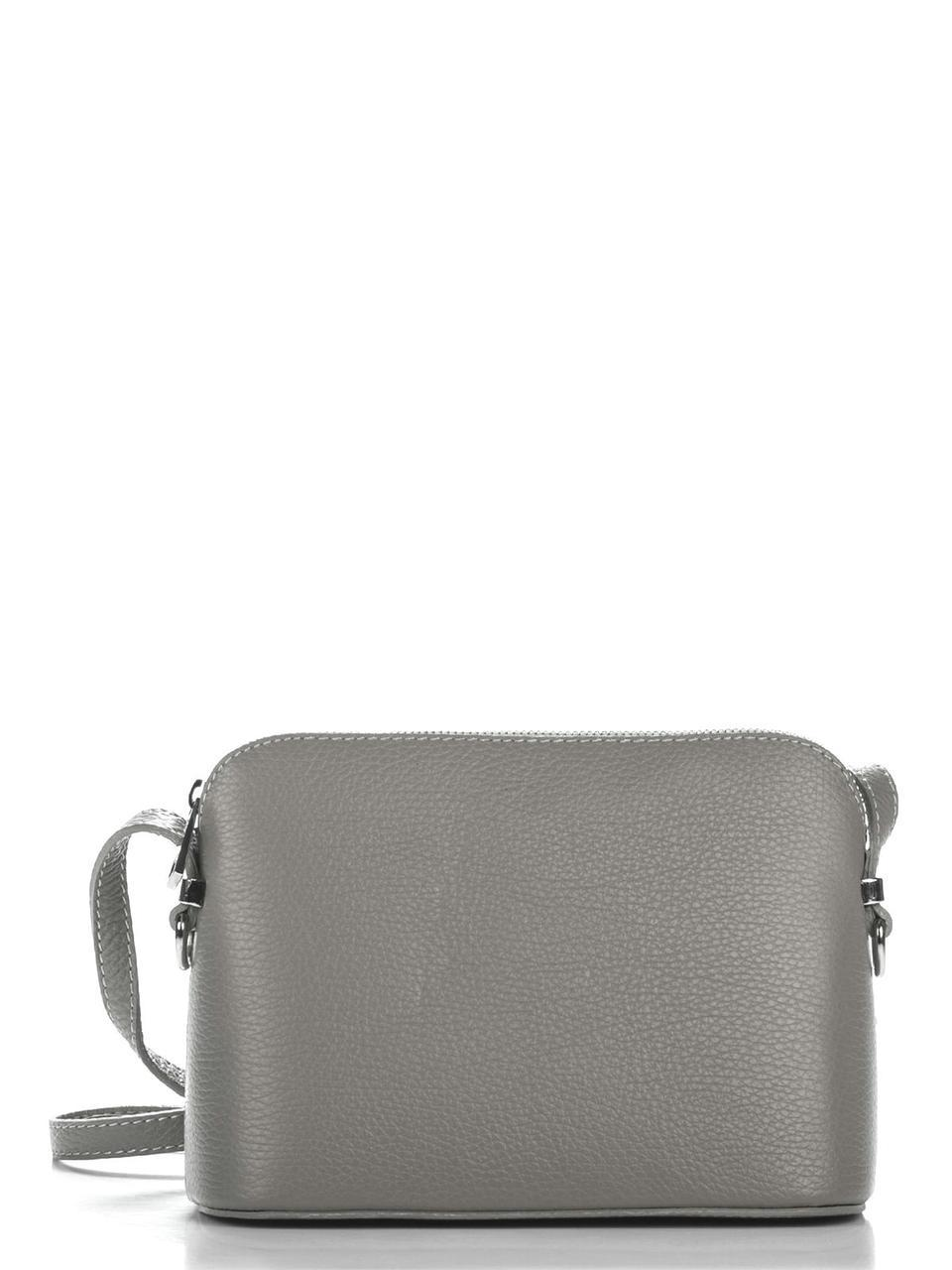Женская кожаная сумка VIOLETTA Diva's Bag цвет темно-серый