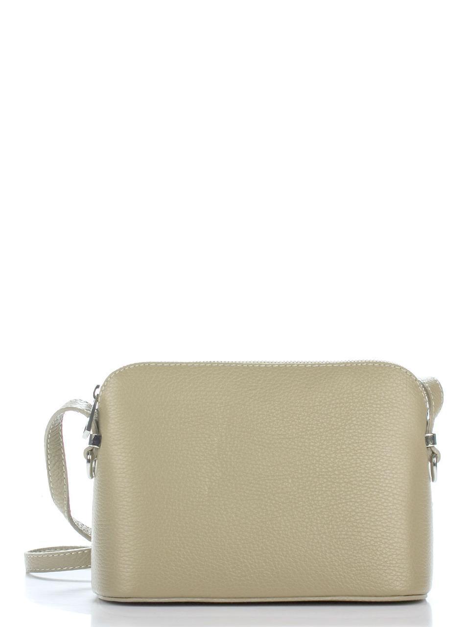 Женская кожаная сумка VIOLETTA Diva's Bag цвет светло-коричневый